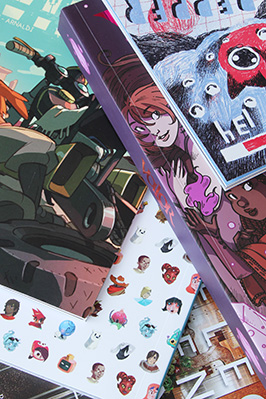 Premium Comic Book & Graphic Novel Printing
