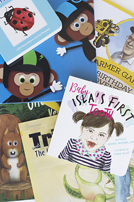 Vividly Printed Children's Books